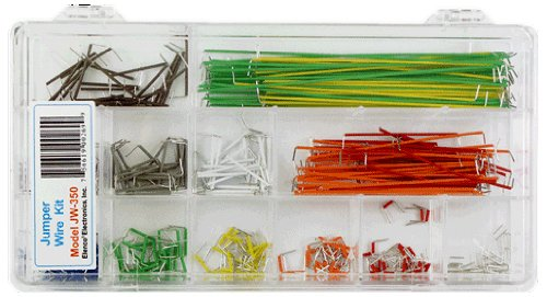 Elenco 350 Piece Pre-formed Jumper Wire Kit