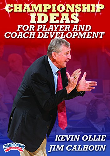 Jim Calhoun: Championship Ideas for Player and Coach Development (DVD) (Be Elite Player Development compare prices)