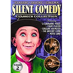 Silent Comedy Classics Collection, Volume 2: 5 Classic Shorts (A Submarine Pirate (1915) / Court Plaster (1924) / Sgt. Hofmeyer (1914) / The Grocery Clerk (1920) / Movie Land (1926)