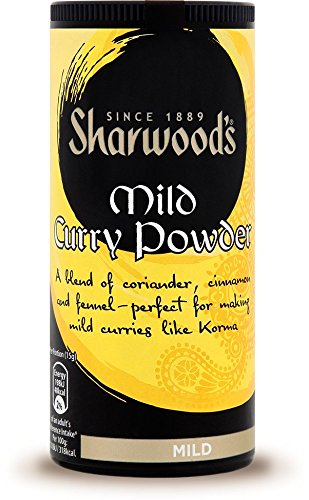 Sharwoods Mild Curry in polvere 3 x 102gm