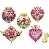 Sailor Moon Compact Mirror Complete Set of 5~takahashi Rmiko Sailor Moon 20th Anniversary