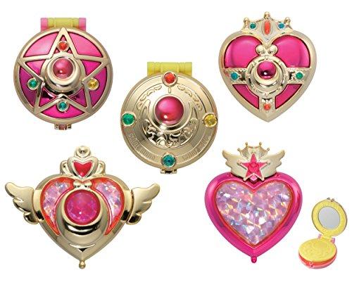美少女戦士セーラームーン 変身コンパクトミラー 全5種セット