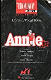 img - for Annie Jr: Libretto/Vocal Book (The Broadway Junior Collection) book / textbook / text book