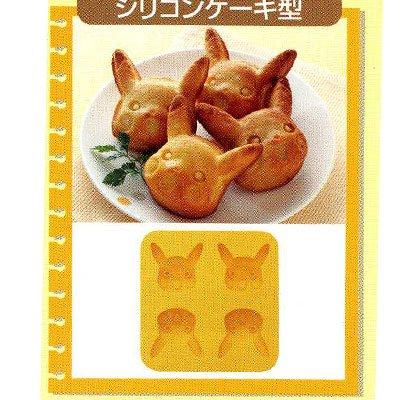 【ポケットモンスター】シリコンケーキ型SLM4★ベストウイッシュ★