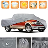 3 Layer Premium Truck Cover Outdoor Tough Waterproof Lining - Mid-Size Pick Up - Regular Cab