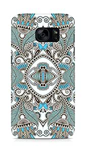 Amez designer printed 3d premium high quality back case cover for Samsung Galaxy S7 (Beautiful pattern background vector)
