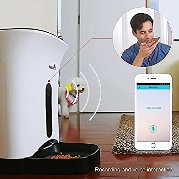 SmartFeeder,WOpet Automatic Pet Feeder for Dog or Cat,Control by Iphone,Andriod or other smart devices