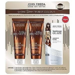 John Frieda John Frieda Brilliant Brunette Variety Pack