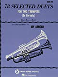 78 Selected Duets for Two Trumpets (or Cornets): Book 1