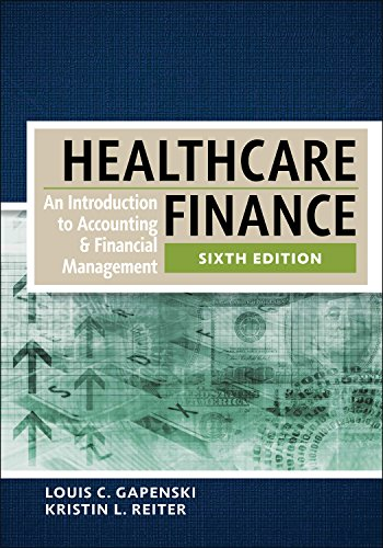 healthcare finance an introduction to accounting and financial management pdf