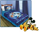 Mickey Mouse Twin Bedding Set Sporty Pals