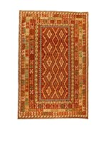 Design Community By Loomier Alfombra Kelim Kaudani Big (Rojo/Multicolor)