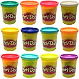 Play Doh - 12 Pots (12 Different colours)