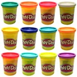 Play Doh - 12 Pots (12 Different colo...