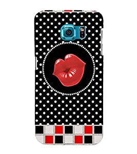 Kisses Clip Art 3D Hard Polycarbonate Designer Back Case Cover for Samsung Galaxy S6 :: Samsung Galaxy S6 G920