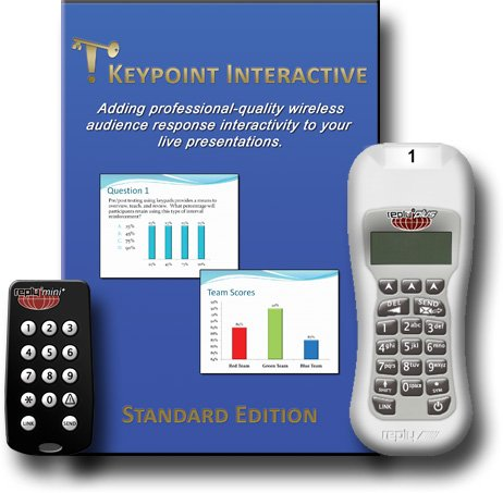 Keypoint Interactive Standard Edition Audience Response Software For Reply Plus And Mini Plus