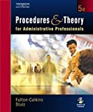 img - for Procedures and Theory for Administrative Professionals (with CD-ROM) by Patsy Fulton-Calkins (2003-06-23) book / textbook / text book
