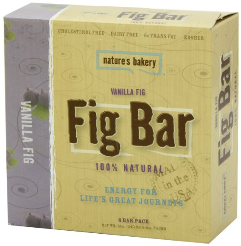 Nature's Bakery Fig Bar, Vanilla, 6 Count (Pack of 12)