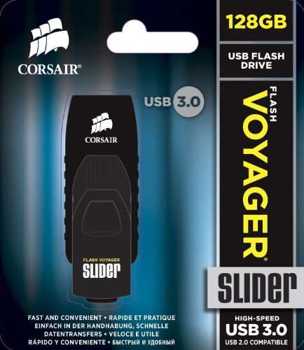 Corsair 海盗船 Voyager Slider 128GB USB 3.0 高速U盘图片