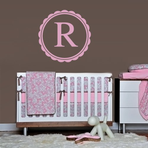 Wall Decals Sticker Bedroom Kids Nursery Baby Custom Name Monogram Personalized Sign Words (Z1107) front-1046096
