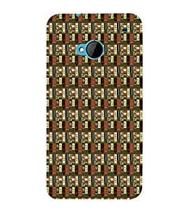 Abstract Painting Cute Fashion 3D Hard Polycarbonate Designer Back Case Cover for HTC One :: HTC One M7