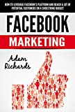 Facebook: Facebook Marketing: How To Leverage Facebook's Platform And Reach A Lot Of Potential Customers On A Shoestring Budget (Internet Marketing For ... Business, Internet Marketing Strategies)