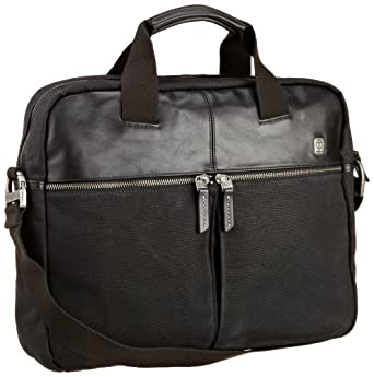 Tumi Luggage T-tech Forge Bethlehem Portfolio, Black, Medium