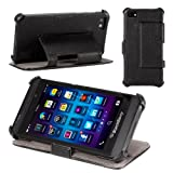 Poetic HardBack Case for BlackBerry Z10 Black (3 Year Manufacturer Warranty From Poetic)
