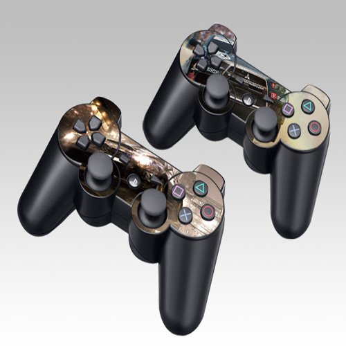 Jeep Design Skin Decal Sticker for the PS3 Playstation 3 Controller 2pcs in 1