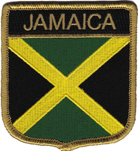 Application Jamaica Flag Patch