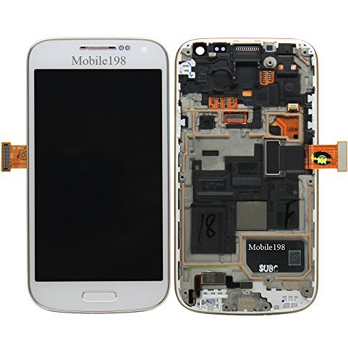 Replacement Lcd Screen With Front Frame For Samsung Galaxy S4 Mini I9190 I9195 I9192 White