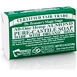 Dr. Bronners Castile Bar Soap 5oz (6 Pack)