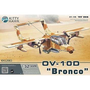 "Maquette Avion Militaire : North American OV-10D ""Bronco"" Guerre du Golf 1991"