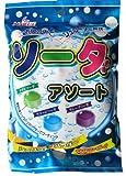 マルエ製菓 ソーダアソート 100g×24袋