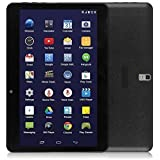"LeaningTech QT-10 10.1"" inch 3G Smart Phone Android WiFi Tablet Phablet with 2 SIM Card Slots, A33 Quad Core Google Android 4.4.2 KitKat Tablet, 16GB, Black"
