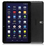 """LeaningTech QT-10 10.1"""" inch 3G Smart Phone Android WiFi Tablet Phablet with 2 SIM Card Slots, A33 Quad Core Google Android 4.4.2 KitKat Tablet, 16GB, Black video review"""