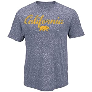 NCAA California berkeley Mens Campus Craze Short Sleeve Tee by Majestic