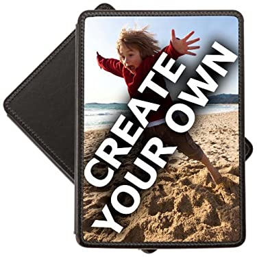 'Create Your Own' Amazon Kindle Touch Leather Cover