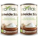 naVitalo Getreide Süße, 300 g (2er Set) - Glutenfrei, Fructosefrei, Bio Qualität