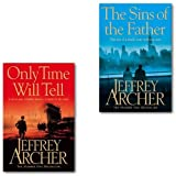 Jeffrey Archer Jeffrey Archer Clifton Chronicles Series Collection 2 Books Set, (The Sins of the Father and Only Time Will Tell)