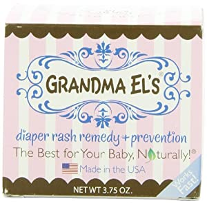 Grandma El's Diaper Rash Remedy and Prevention Jar, 3.75-Ounce