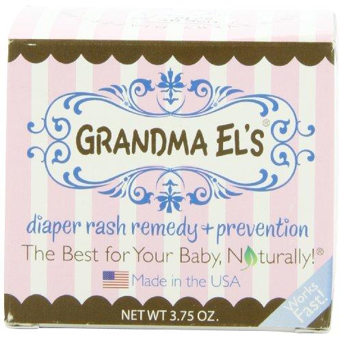 Grandma El's Diaper Rash Remedy and Prevention Jar, 3.75 Ounce