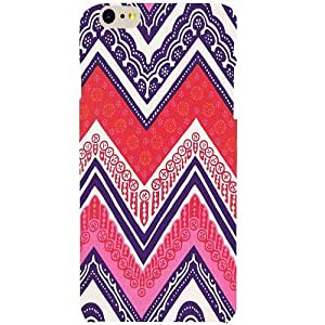 Casotec Ziggy Design Hard Back Case Cover for Apple iPhone 6 Plus / 6S Plus