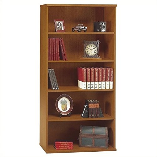 Series C: Open Double Bookcase Finish: Natural Cherry (Bush Natural Cherry compare prices)