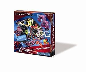 Clementoni - 62374.7 - Jeu de Société - 80 Jeux Classiques - Spiderman 4
