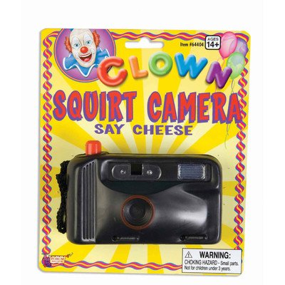 Clown Squirt Camera Accessory