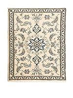 Navaei & Co. Alfombra Persian Nain Beige/Azul 138 x 90 cm