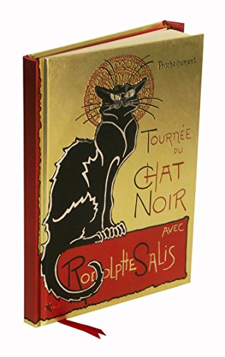 Steinlen Tournee Du Chat Noir (Foiled Journal) (Flame Tree Notebooks)