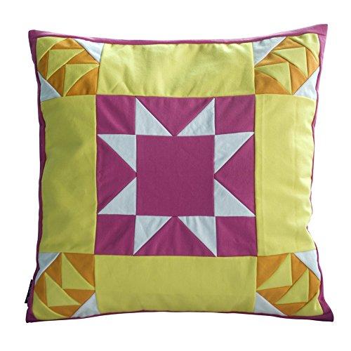 [Ei flag] handgemachte Segeltuch dekorative Kissen einzigartigen Gitterkissen