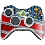 > > > Decal Sticker < < < American Flag Design Print Image Xbox 360 Wireless Controller Vinyl Decal Sticker Skin By Trendy Accessories